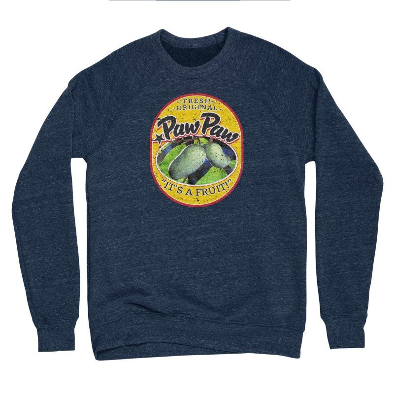 Paw Paw Men's Sponge Fleece Sweatshirt by Puttyhead's Artist Shop