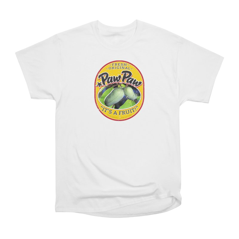 Paw Paw Women's Heavyweight Unisex T-Shirt by Puttyhead's Artist Shop