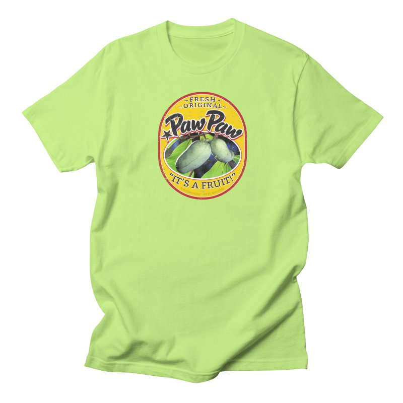 Paw Paw Women's Regular Unisex T-Shirt by Puttyhead's Artist Shop