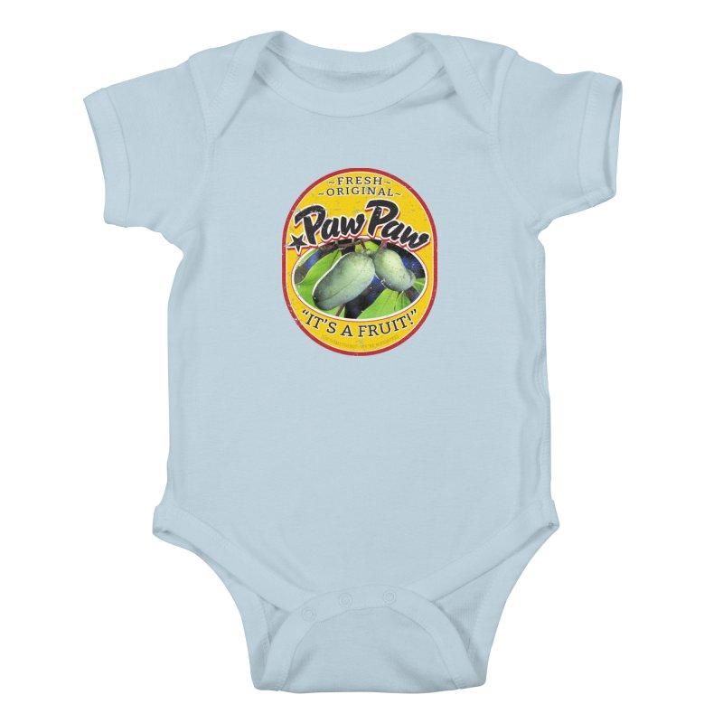 Paw Paw Kids Baby Bodysuit by Puttyhead's Artist Shop