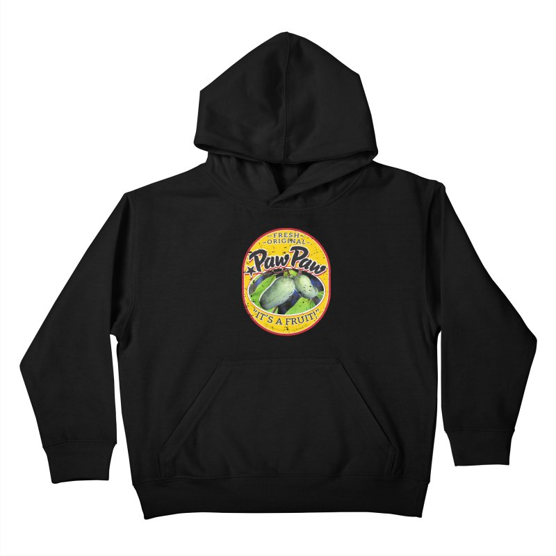 Paw Paw Kids Pullover Hoody by Puttyhead's Artist Shop
