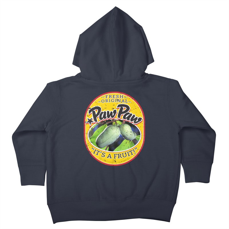 Paw Paw Kids Toddler Zip-Up Hoody by Puttyhead's Artist Shop