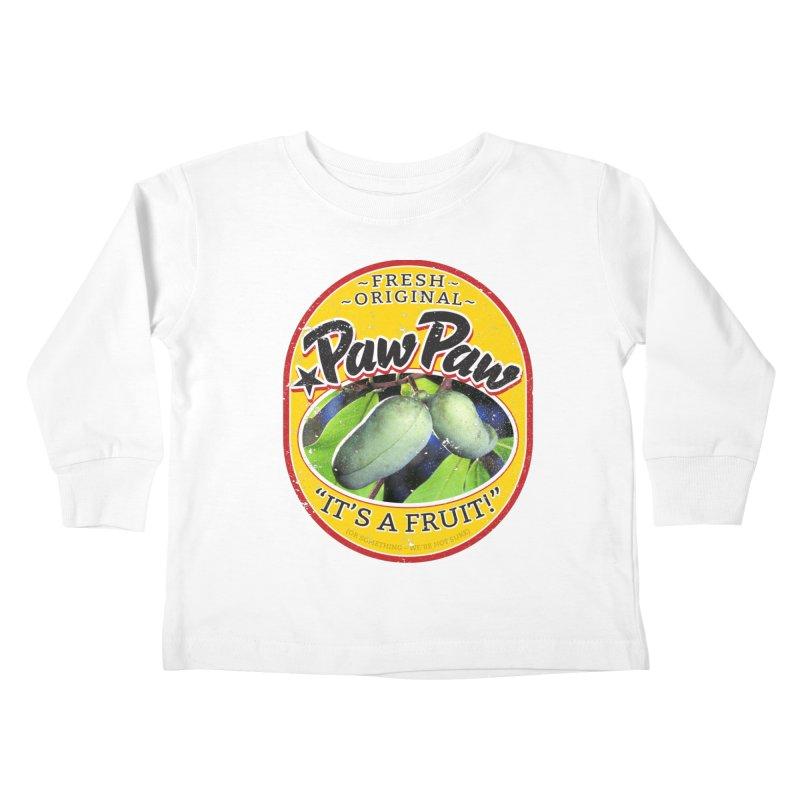 Paw Paw Kids Toddler Longsleeve T-Shirt by Puttyhead's Artist Shop