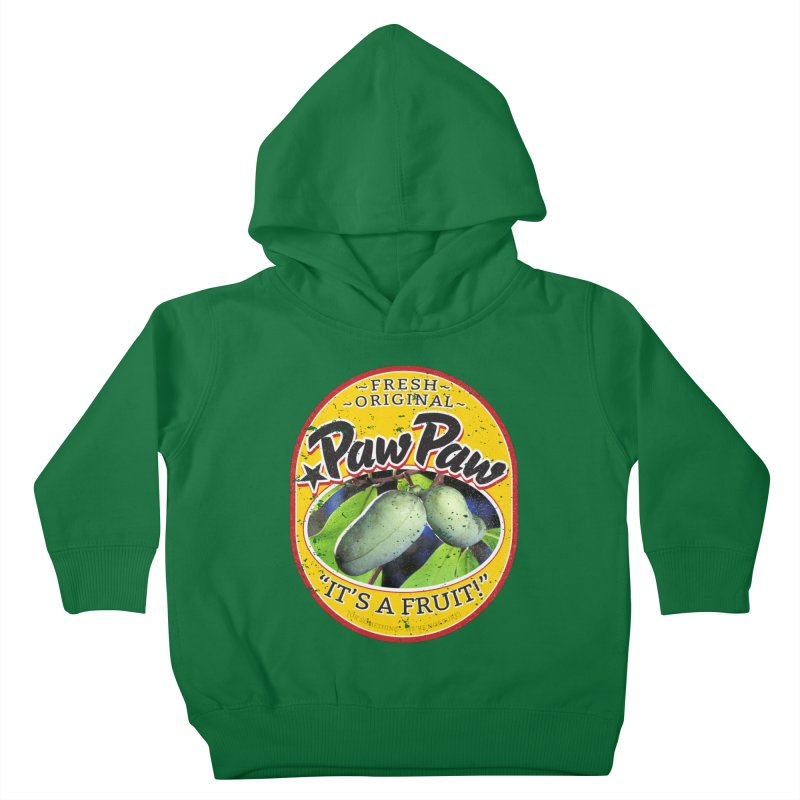 Paw Paw Kids Toddler Pullover Hoody by Puttyhead's Artist Shop