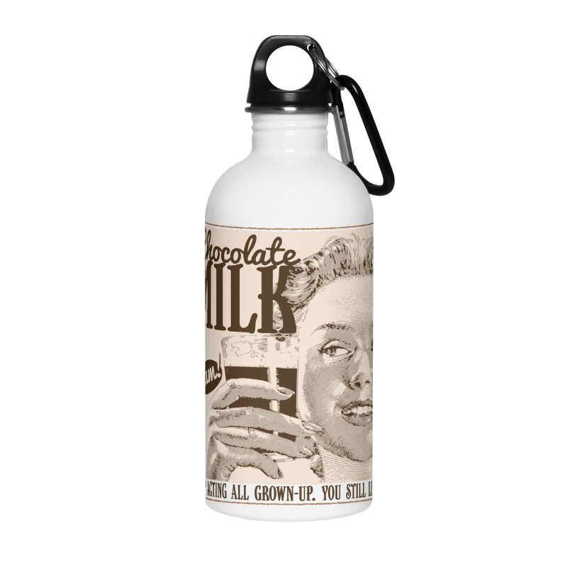 Chocolate Milk! Accessories Water Bottle by Puttyhead's Artist Shop