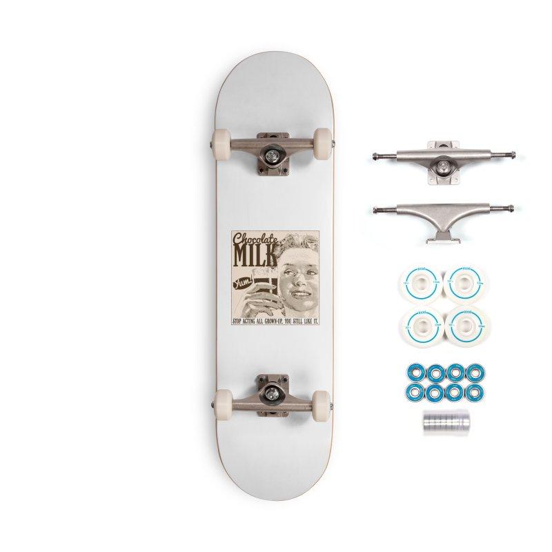 Chocolate Milk! Accessories Complete - Basic Skateboard by Puttyhead's Artist Shop