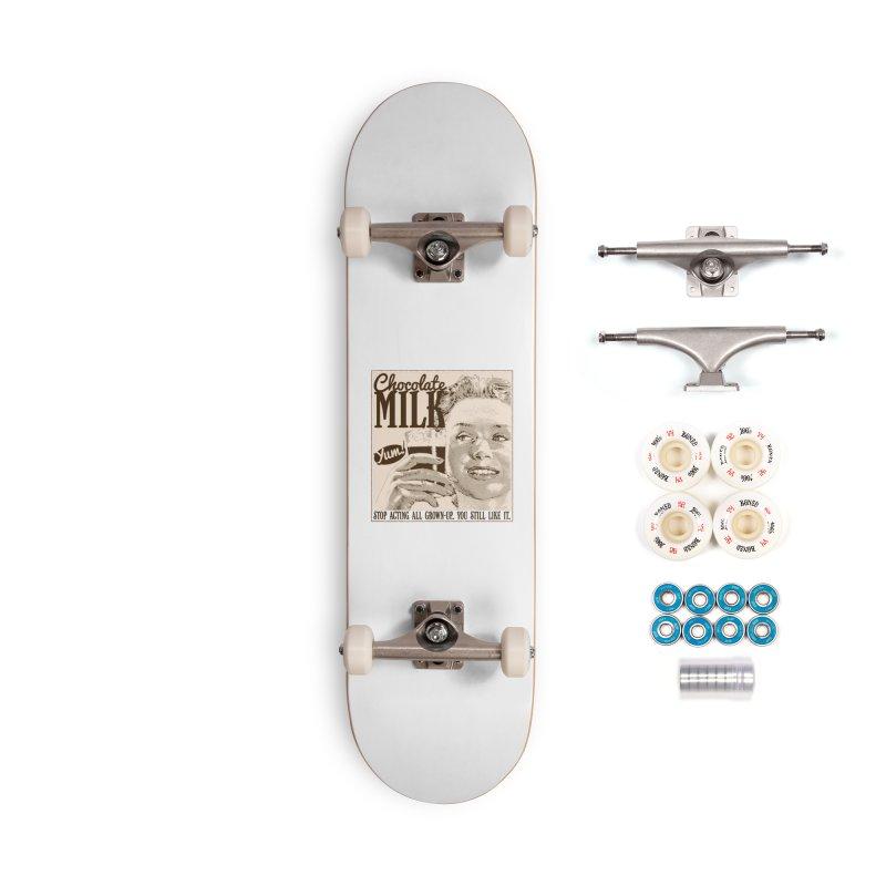Chocolate Milk! Accessories Complete - Premium Skateboard by Puttyhead's Artist Shop