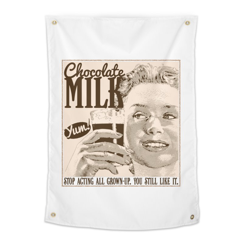 Chocolate Milk! Home Tapestry by Puttyhead's Artist Shop