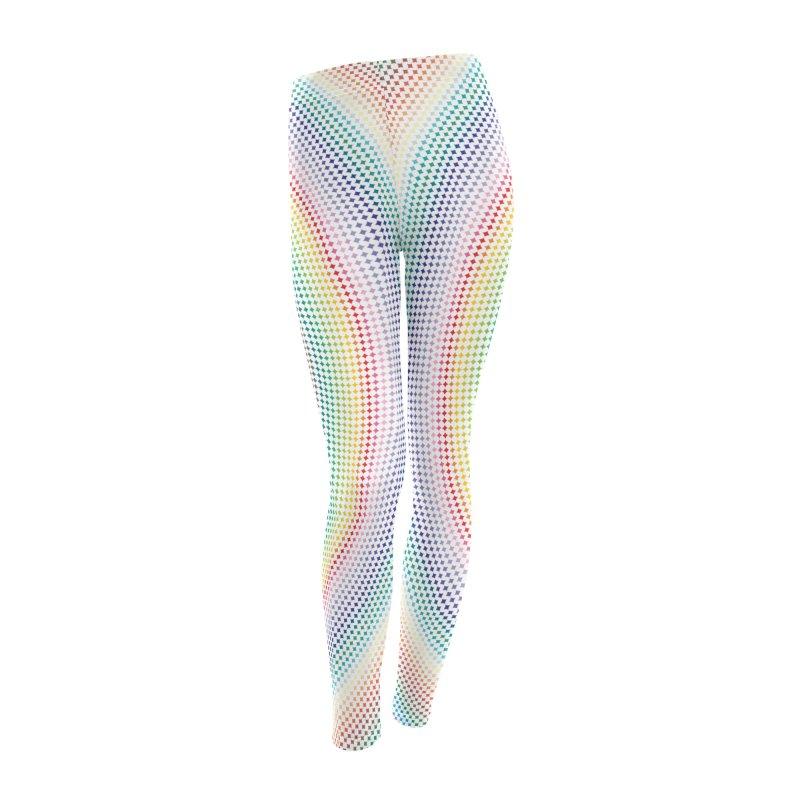 Diamond Leggings - Light Women's Leggings Bottoms by Puttyhead's Artist Shop