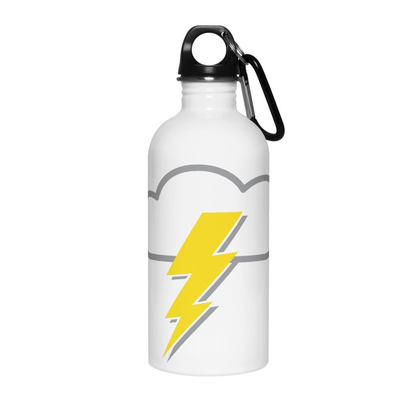 Severe Weather Expected Accessories Water Bottle by Puttyhead's Artist Shop