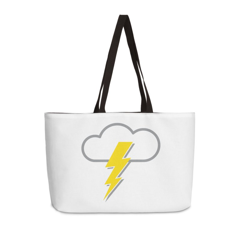 Severe Weather Expected Accessories Weekender Bag Bag by Puttyhead's Artist Shop