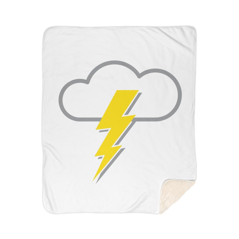 Severe Weather Expected Home Sherpa Blanket Blanket by Puttyhead's Artist Shop