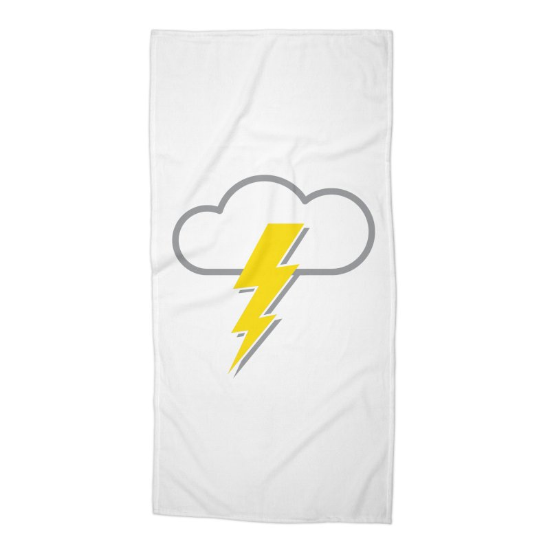 Severe Weather Expected Accessories Beach Towel by Puttyhead's Artist Shop
