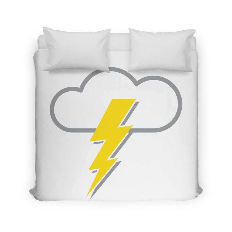 Severe Weather Expected Home Duvet by Puttyhead's Artist Shop