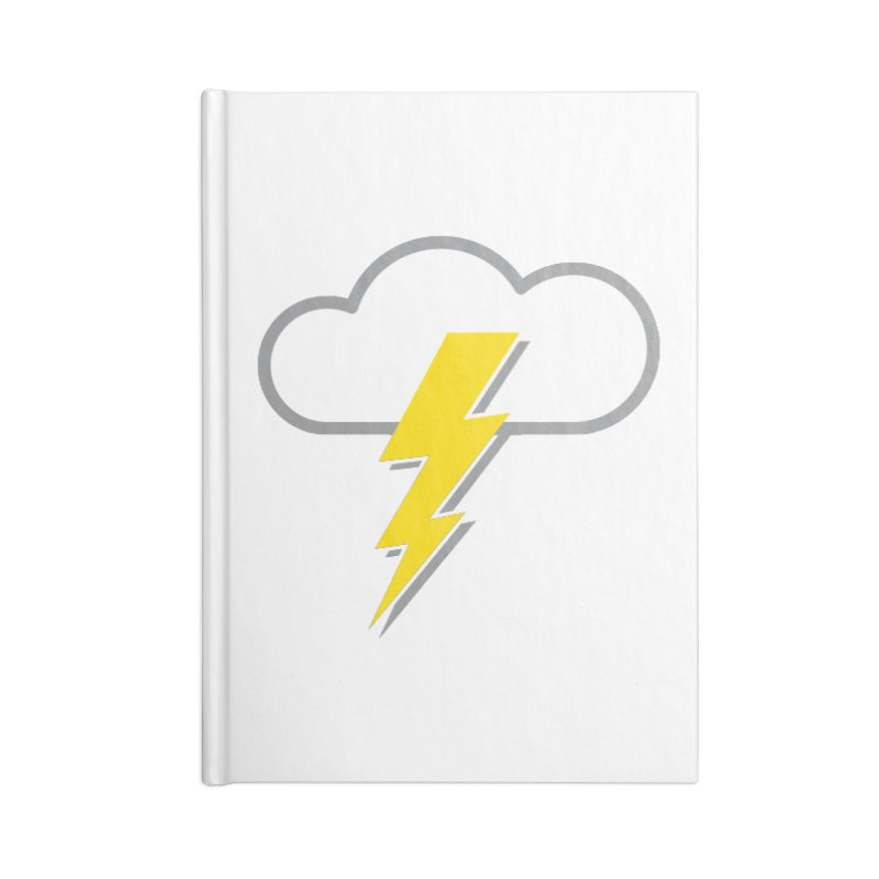 Severe Weather Expected Accessories Lined Journal Notebook by Puttyhead's Artist Shop