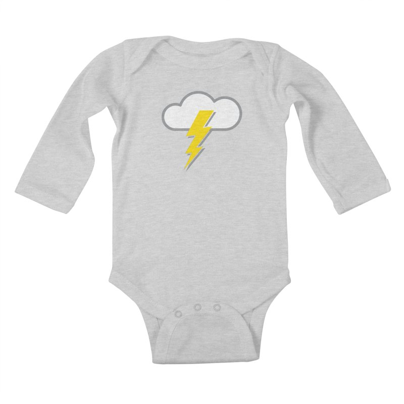 Severe Weather Expected Kids Baby Longsleeve Bodysuit by Puttyhead's Artist Shop