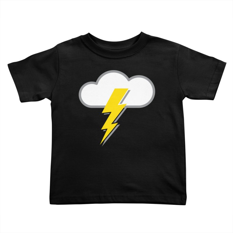 Severe Weather Expected Kids Toddler T-Shirt by Puttyhead's Artist Shop