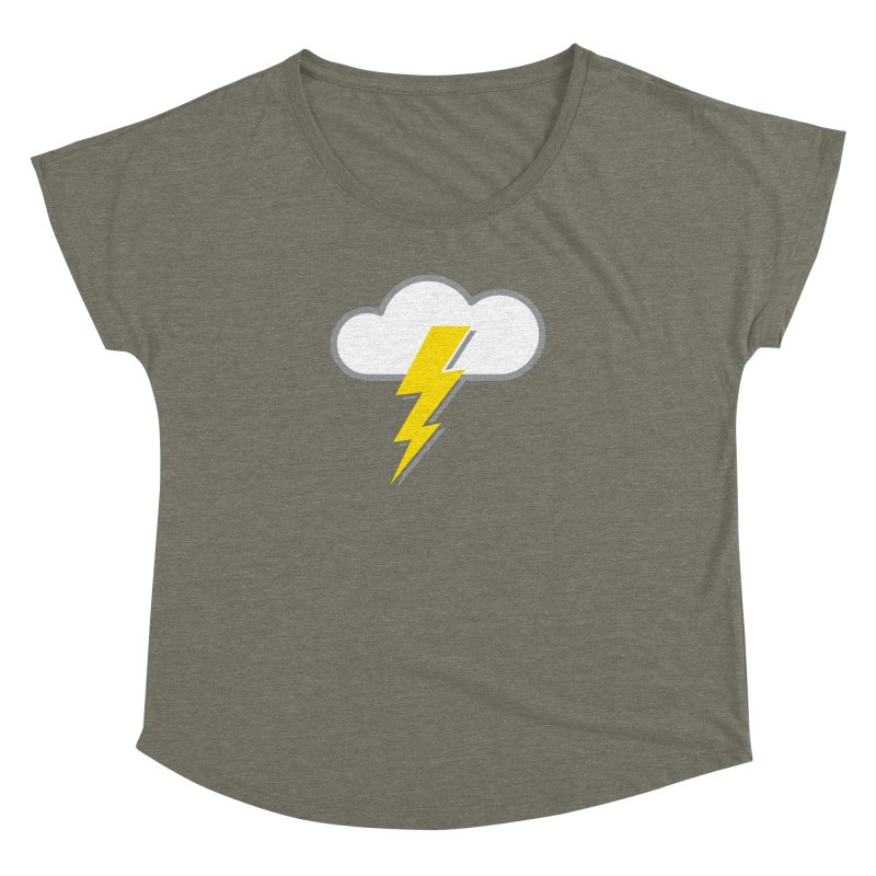 Severe Weather Expected Women's Dolman Scoop Neck by Puttyhead's Artist Shop