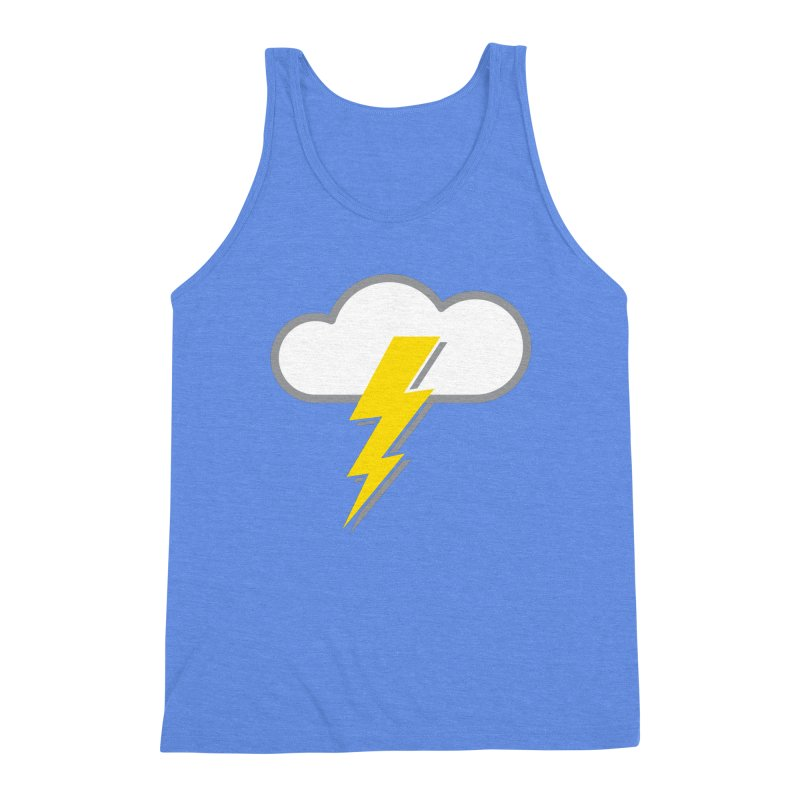 Severe Weather Expected Men's Triblend Tank by Puttyhead's Artist Shop