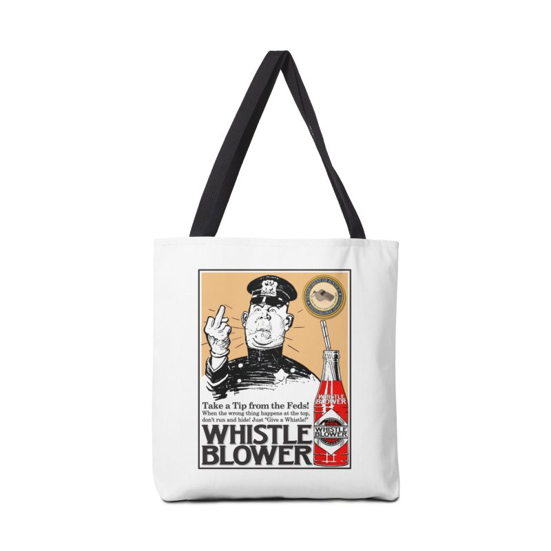 Whistle Blower! Accessories Tote Bag Bag by Puttyhead's Artist Shop