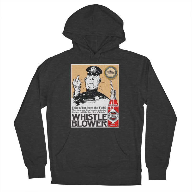 Whistle Blower! Women's French Terry Pullover Hoody by Puttyhead's Artist Shop