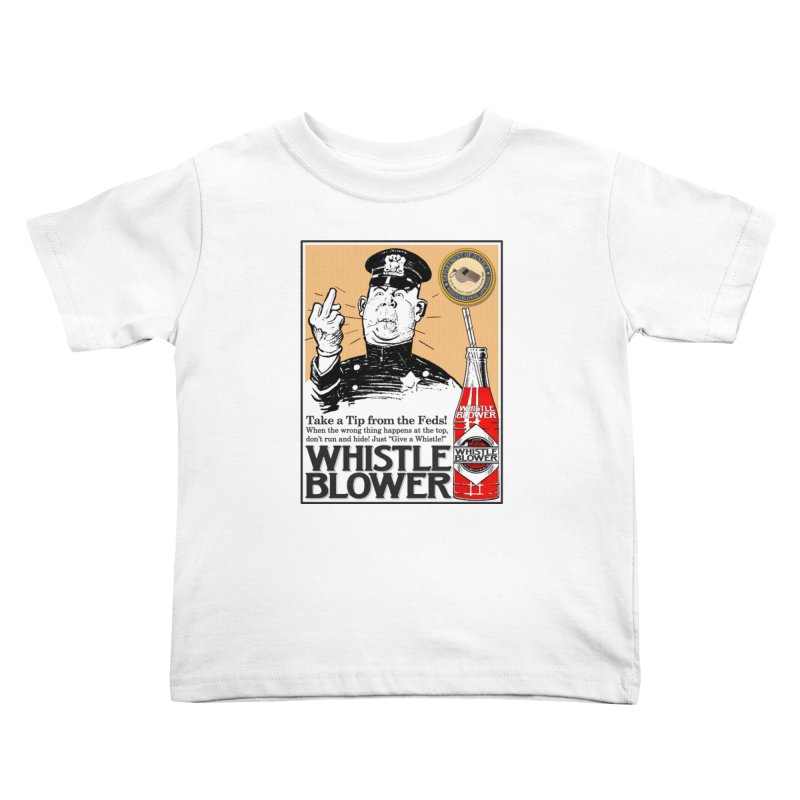 Whistle Blower! Kids Toddler T-Shirt by Puttyhead's Artist Shop