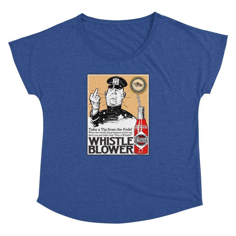 Whistle Blower! Women's Dolman Scoop Neck by Puttyhead's Artist Shop