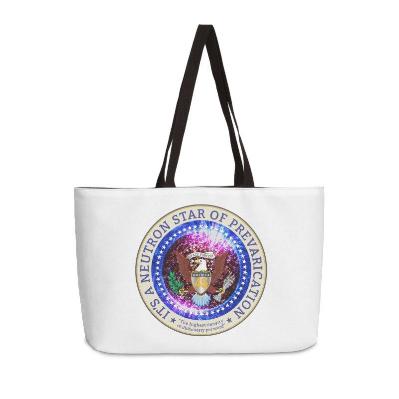 A Neutron Star of Prevarication Accessories Weekender Bag Bag by Puttyhead's Artist Shop