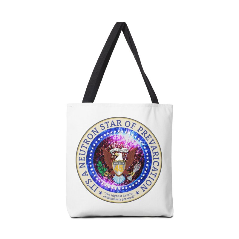 A Neutron Star of Prevarication Accessories Tote Bag Bag by Puttyhead's Artist Shop
