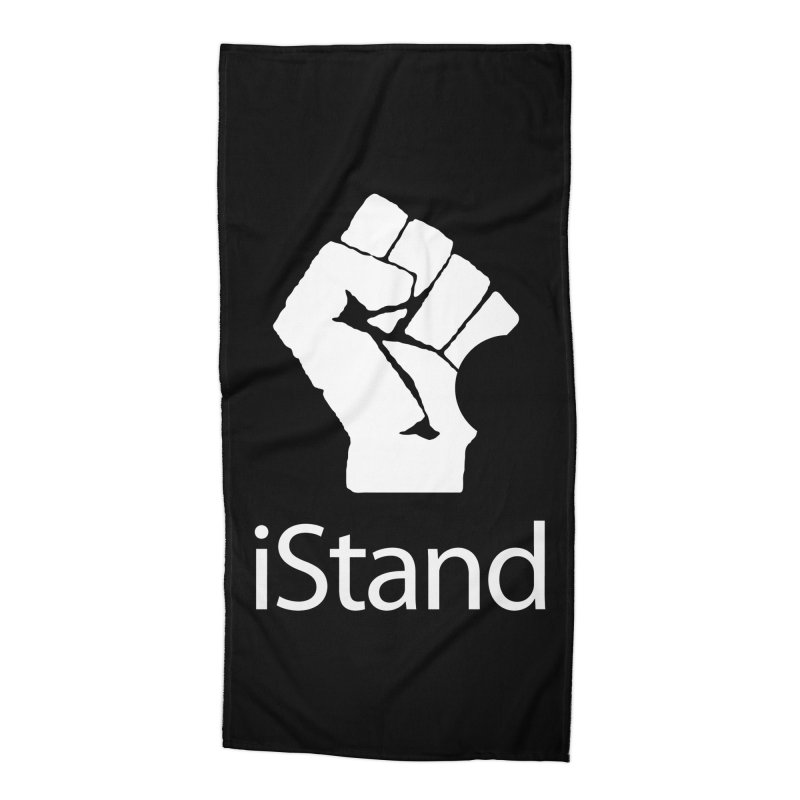 iStand Accessories Beach Towel by Puttyhead's Artist Shop