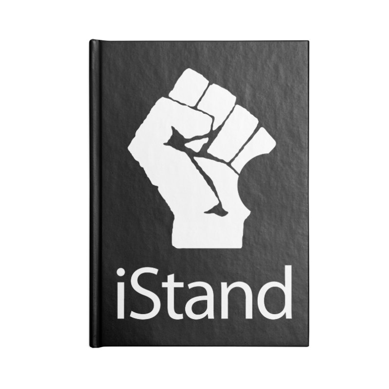 iStand Accessories Lined Journal Notebook by Puttyhead's Artist Shop