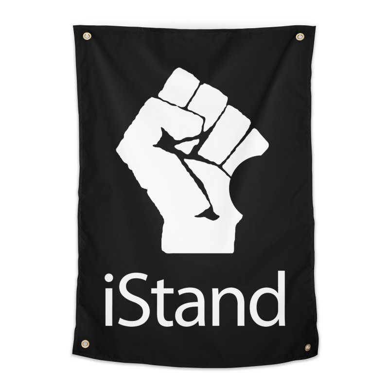 iStand Home Tapestry by Puttyhead's Artist Shop