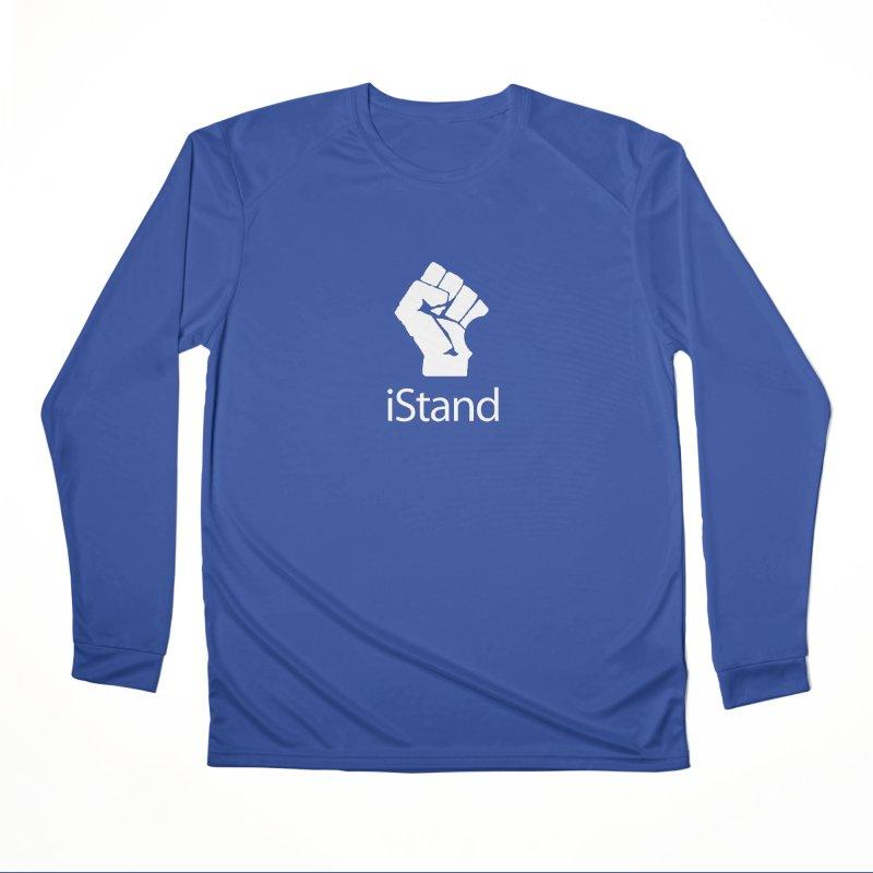 iStand Men's Performance Longsleeve T-Shirt by Puttyhead's Artist Shop