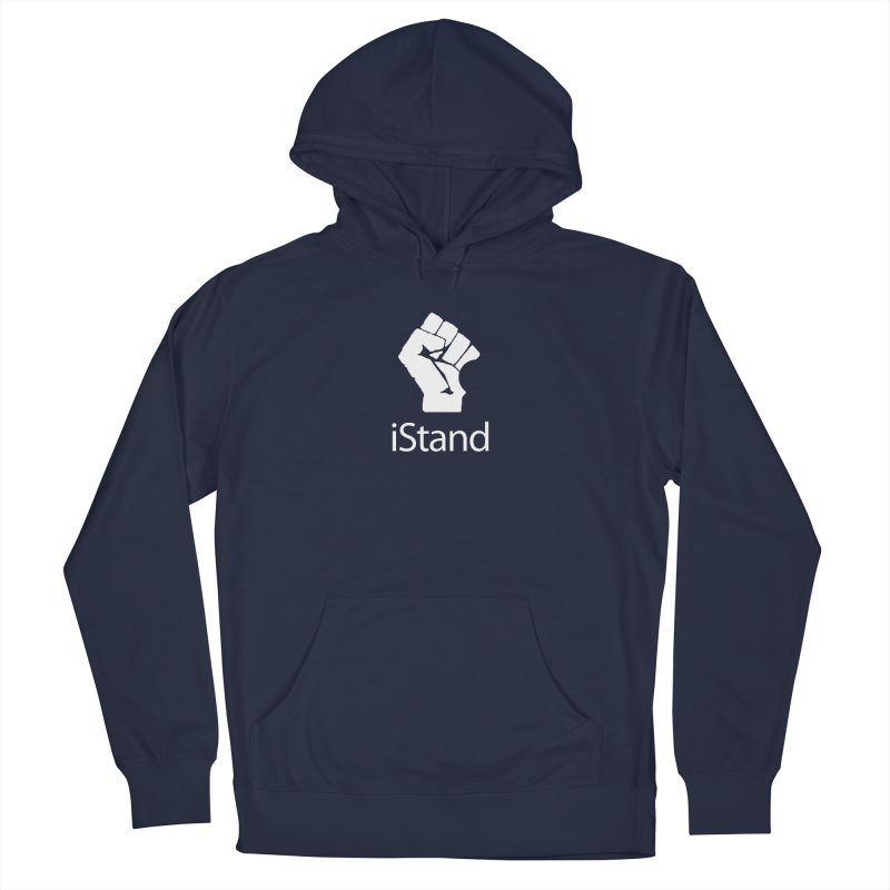 iStand Men's French Terry Pullover Hoody by Puttyhead's Artist Shop