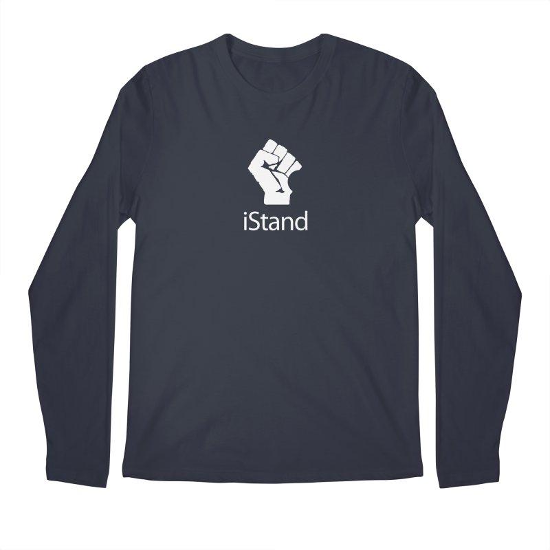 iStand Men's Regular Longsleeve T-Shirt by Puttyhead's Artist Shop