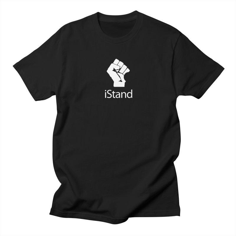 iStand Men's Regular T-Shirt by Puttyhead's Artist Shop