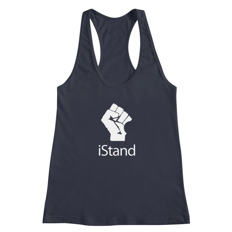 iStand Women's Racerback Tank by Puttyhead's Artist Shop