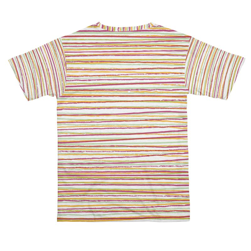 Rough Stripey Men's Cut & Sew by Puttyhead's Artist Shop