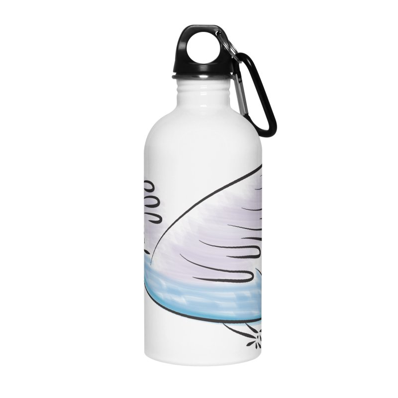 Birdie Accessories Water Bottle by Puttyhead's Artist Shop