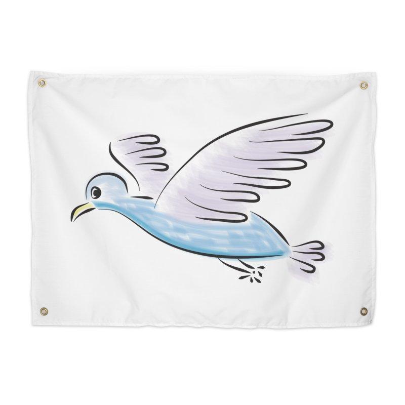 Birdie Home Tapestry by Puttyhead's Artist Shop