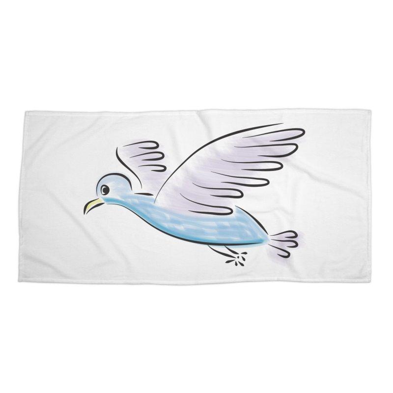 Birdie Accessories Beach Towel by Puttyhead's Artist Shop