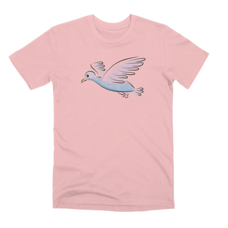 Birdie Men's Premium T-Shirt by Puttyhead's Artist Shop