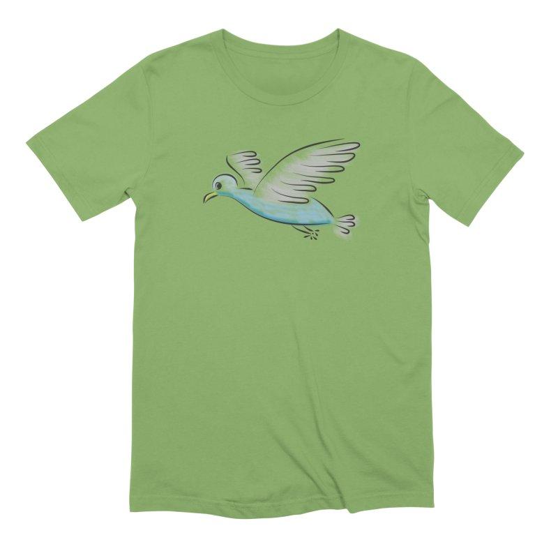 Birdie Men's Extra Soft T-Shirt by Puttyhead's Artist Shop