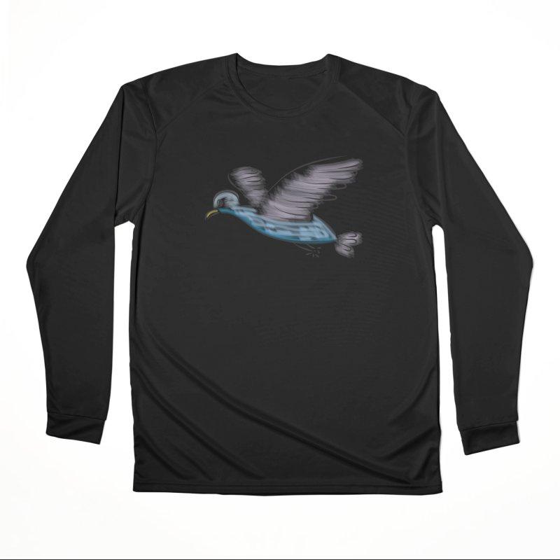 Birdie Men's Performance Longsleeve T-Shirt by Puttyhead's Artist Shop