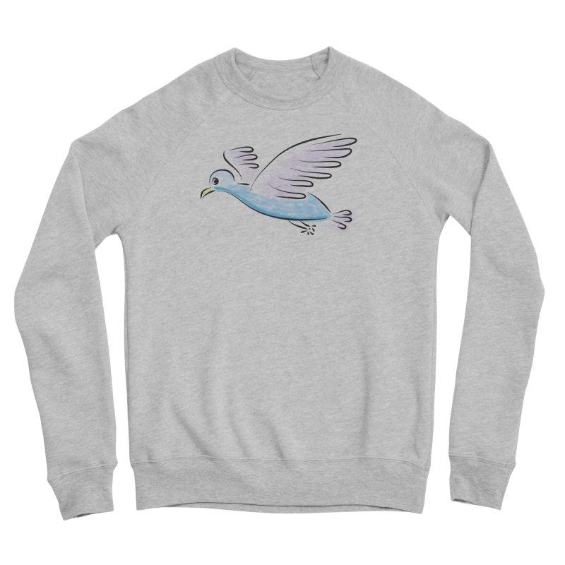 Birdie Women's Sponge Fleece Sweatshirt by Puttyhead's Artist Shop