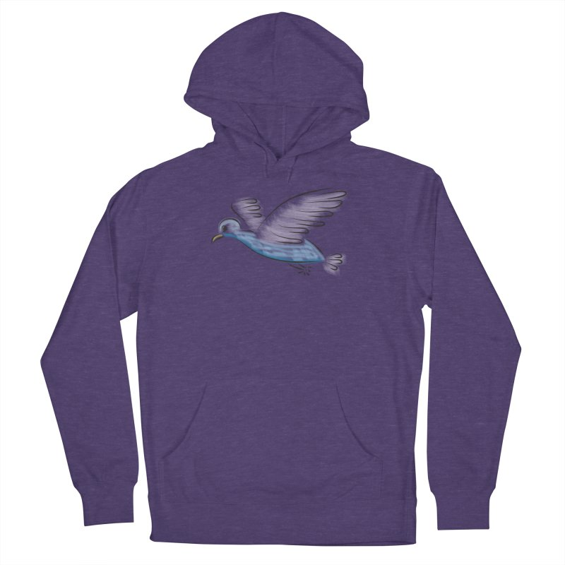 Birdie Women's French Terry Pullover Hoody by Puttyhead's Artist Shop