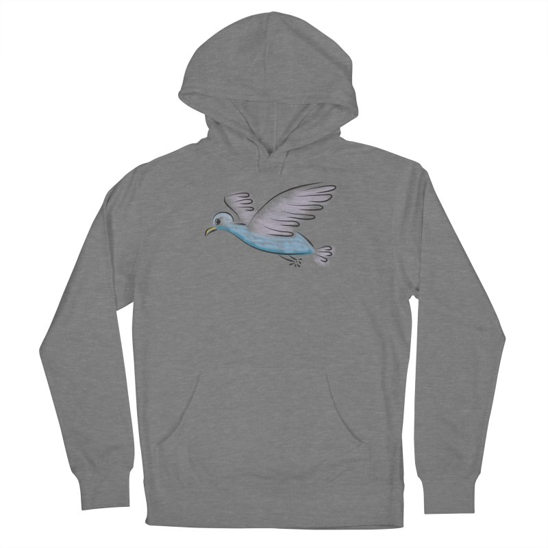 Birdie Men's French Terry Pullover Hoody by Puttyhead's Artist Shop