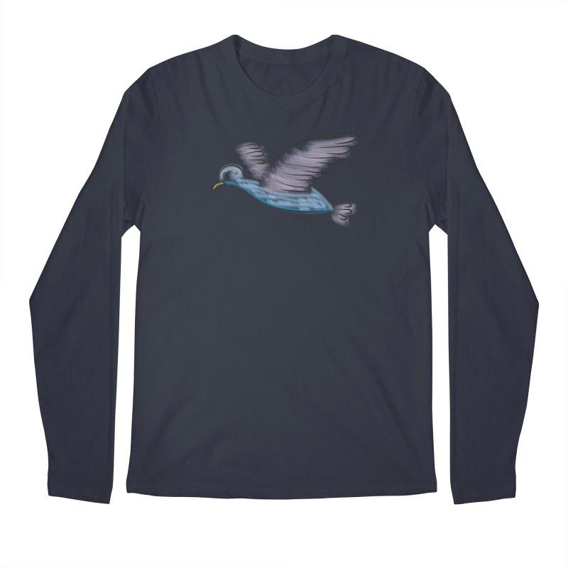 Birdie Men's Regular Longsleeve T-Shirt by Puttyhead's Artist Shop