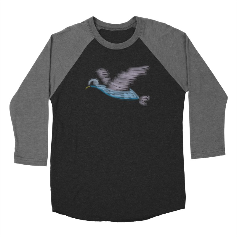 Birdie Men's Baseball Triblend Longsleeve T-Shirt by Puttyhead's Artist Shop