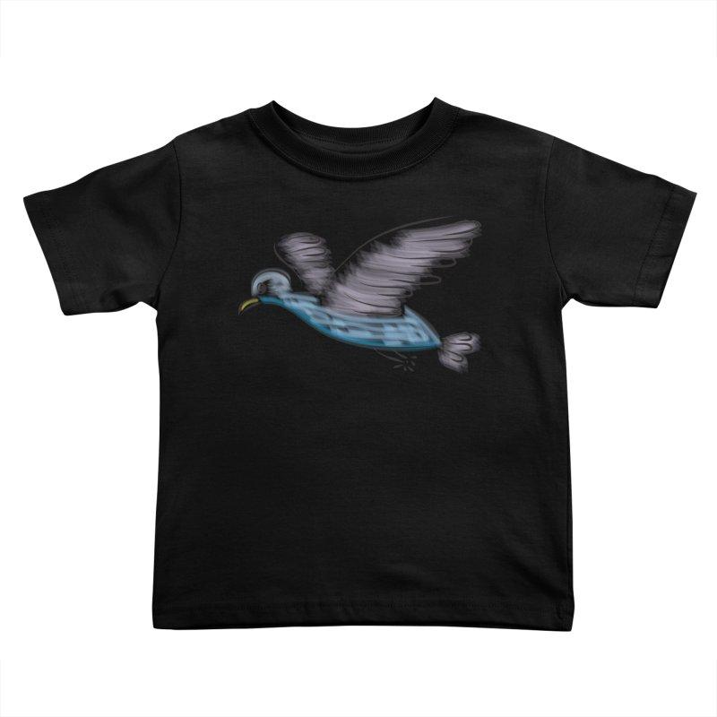 Birdie Kids Toddler T-Shirt by Puttyhead's Artist Shop